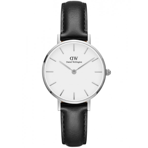 Daniel Wellington - Classic Petite Sheffield White Ur 28 mm - stål ADW00100242